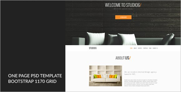 Sample HTML Website Template