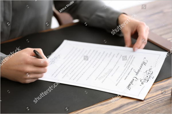 SampleMarriage Contract Template