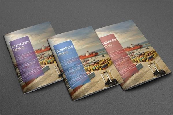Sample Newsletter Brochure Design