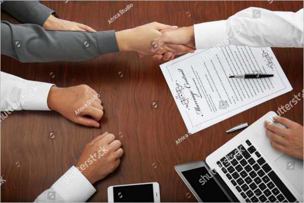 Sample WeddingContract Template