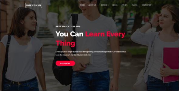 School Agency HTML5 Template