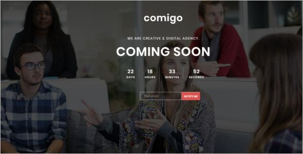School Coming Soon HTML Template