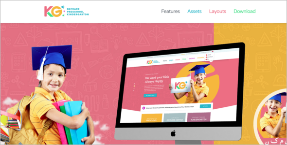 School Education HTML5 Template
