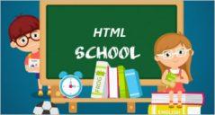 School HTML5 Templates
