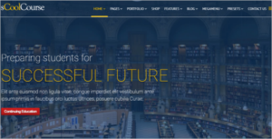 School Website Joomla Template