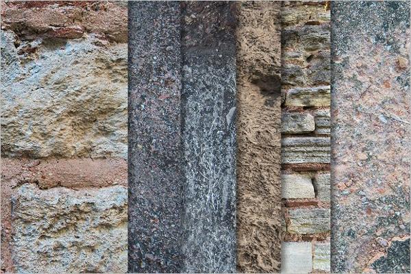 Set Of Wall Texture Design