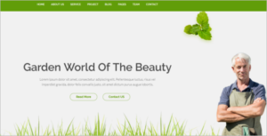 Simple Agriculture HTML5 Template
