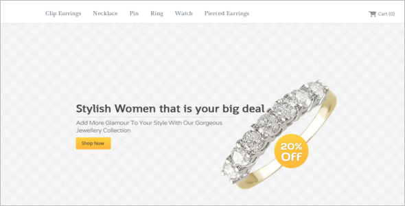 Simple Jewelry HTML5 Template