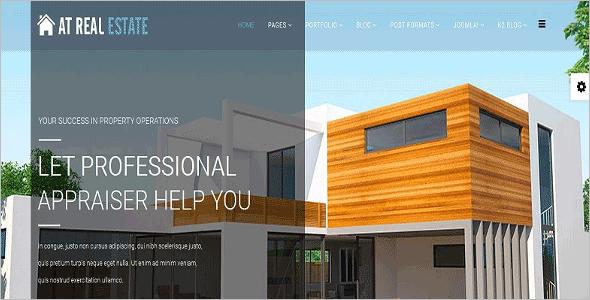 Simple Real Estate Joomla Template