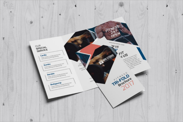Simple Training Brochure Template