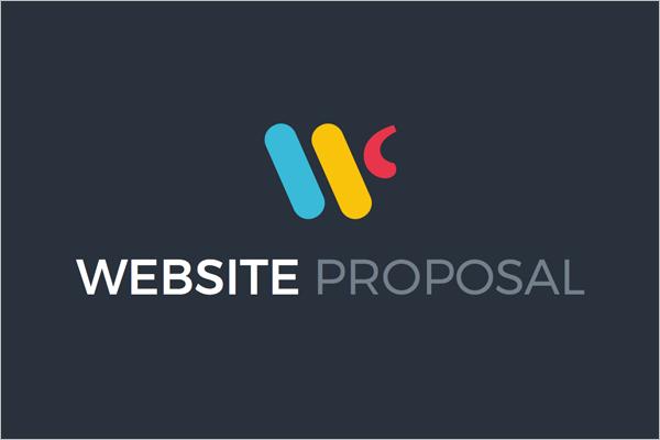 Simple Website Proposal Template