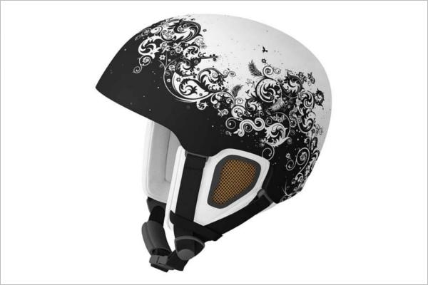 Ski & Snowboard Helmet Mockup Design