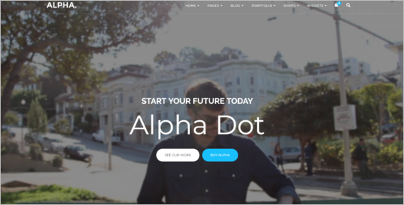 Small Business HTML Template