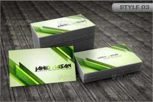 Smart Visiting Card Mockup Template