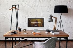 Smart iMac Mockup Design
