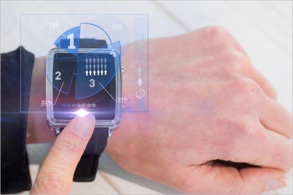 Smartwatch Free Device Mockup