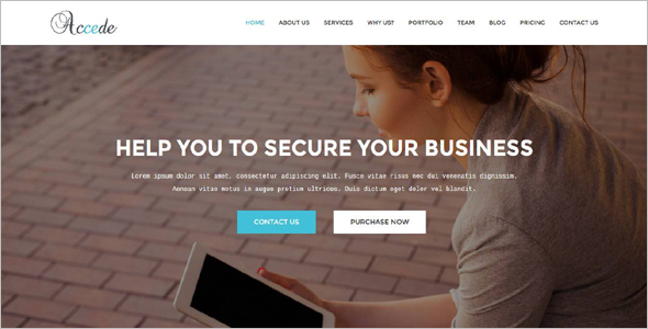 Software Company HTML5 Template