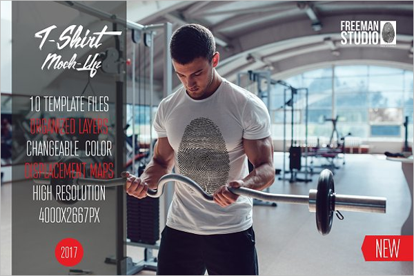 Sport T-Shirt MockUp