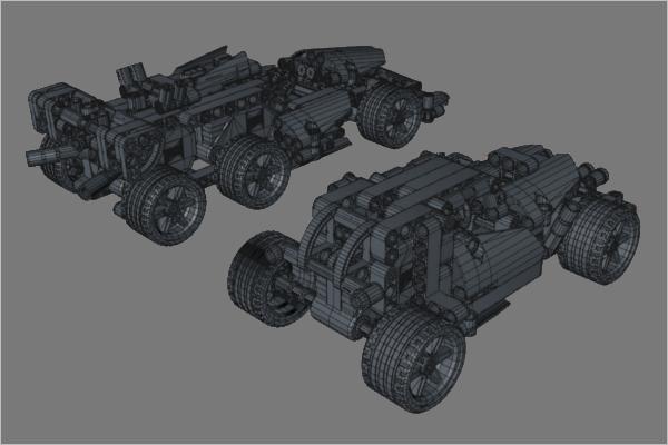 Sports Car 3D Design
