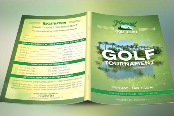 Sports Leaflet Brochure Design