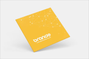 SquareVisiting Cards Mockup Design