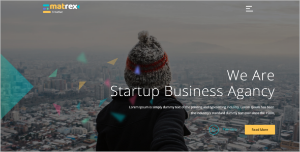 Startup Business HTML5 Template
