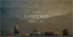 Startup Coming Soon Website Template