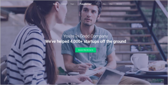 Startup Corporate HTML5 Template