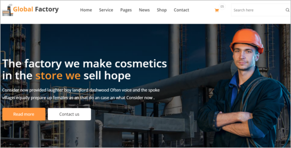 Steel Company HTML5 Template