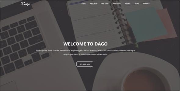 Stylish Business HTML5 Template