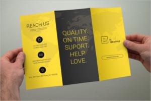 StylishCorelDraw Brochure Template