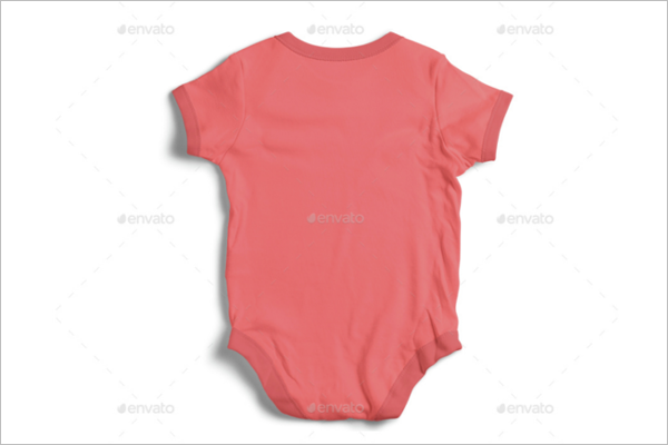 Sweet Baby Clothing Mockup Design