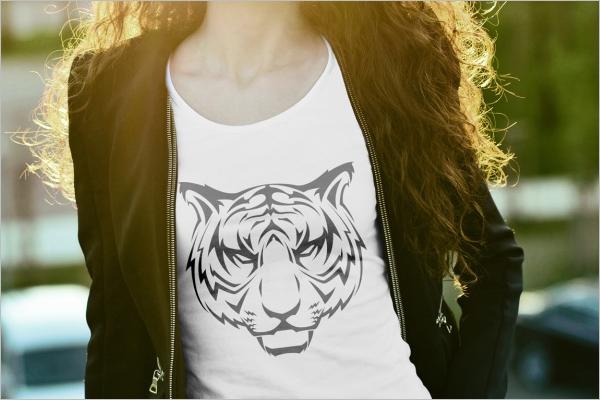 T-shirt mockup Sample Design