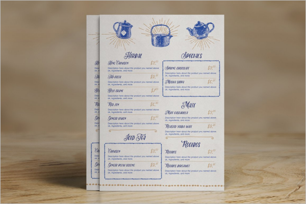tea party menu template - 27 party menu templates free word design ideas