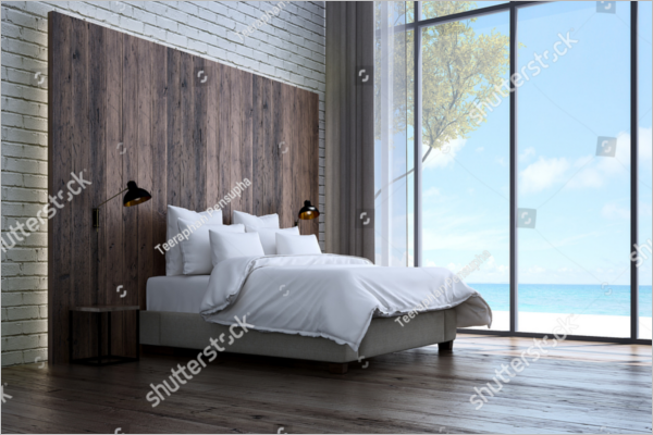 Texture Background  Design For Bedroom