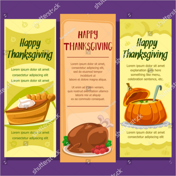 Thanksgiving Menu Template Download