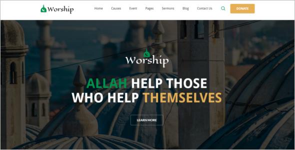 Top Arabic WordPress Theme