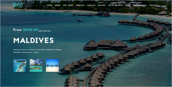 Tour Travel Joomla Template