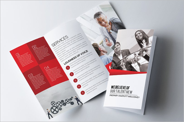 Training Brochure Design