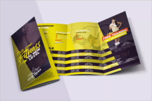 Training Brochure Photoshop Design