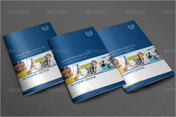Training Brochure Template