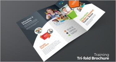 28 training brochure design templates