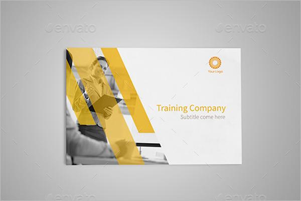 Training CompanyBrochure Template