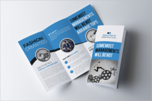 Training Management Brochure Template