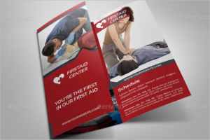 Training Tri-Fold Brochure Template