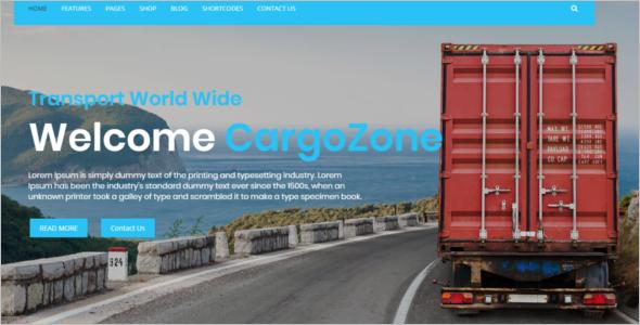 Transport Business HTML5 Template