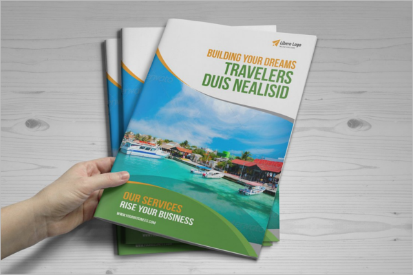 Travel A4 Brochure Template