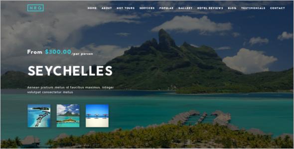 Travel Animated Joomla Template
