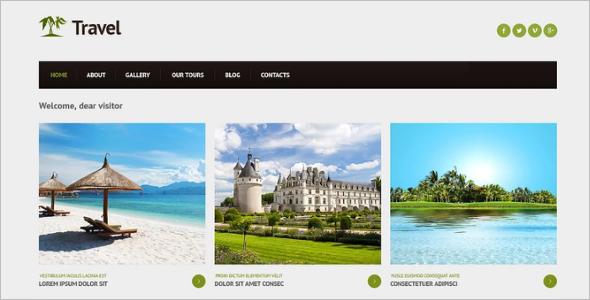 Travel Destination Joomla Template