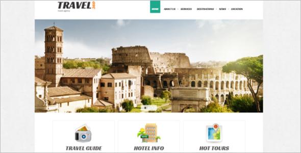 Travel Guide Joomla Template